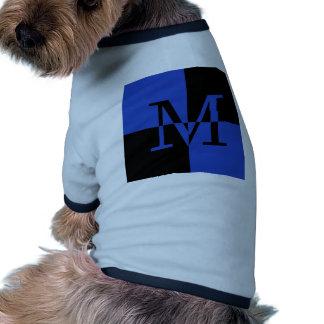 Capital M Royal Blue Doggie Tee Shirt