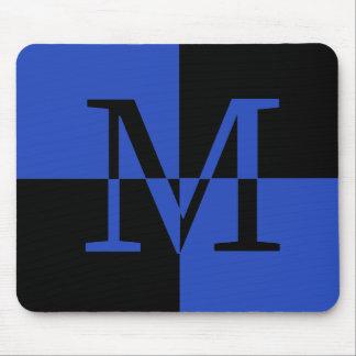 Capital M Royal Blue Mouse Pad