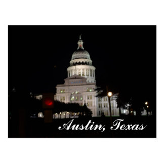Capital of Texas Postcard