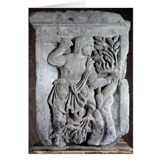 Capital of The Nautes Pillar Card