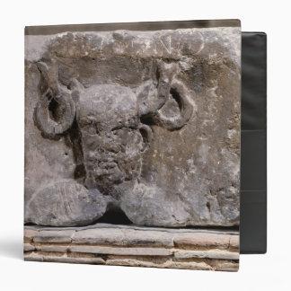 Capital of the Nautes Pillar depicting Cernunnos 3 Ring Binder