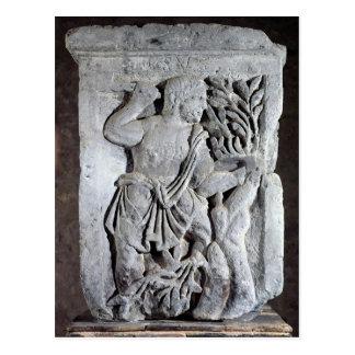Capital of The Nautes Pillar Postcard