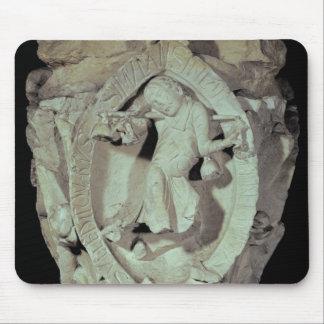 Capital que representa la cuarta llave de Plainson Mousepads