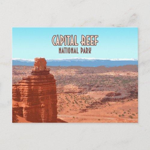 Capital Reef National Park Utah Postcard