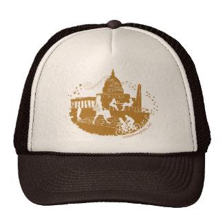 Capital Seasons Illustration Mesh Hats