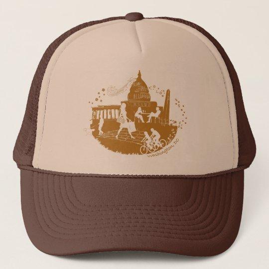 Capital Seasons Illustration Trucker Hat