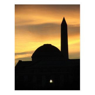 Capital Sunset Postcard