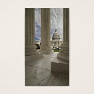 Capital Through Columns Business Card