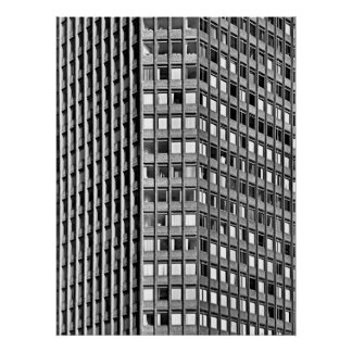 Capital Tower, Cardiff, Wales, UK Poster
