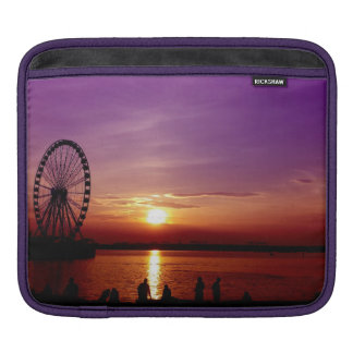Capital Wheel at Sunset Sleeves For iPads