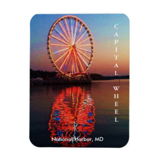 Capital Wheel Magnet