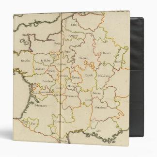 """Capitales de Francia Carpeta 1 1/2"""""""