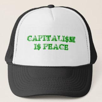 CAPITALI$M I$ PEACE TRUCKER HAT