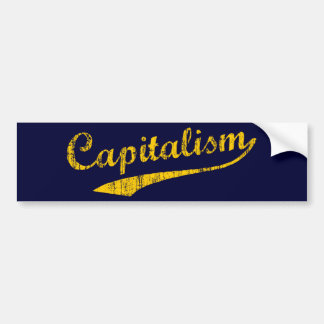 Capitalism Bumper Sticker