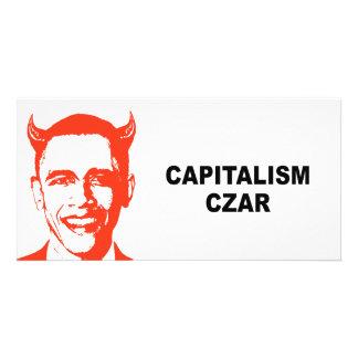 Capitalism Czar Photo Card Template