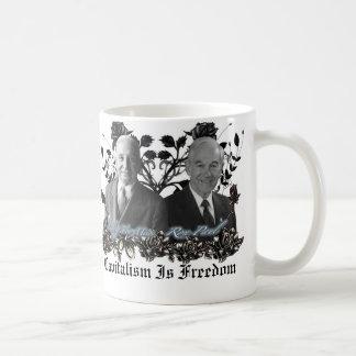 Capitalism / Freedom (ron paul, Mises) Mug