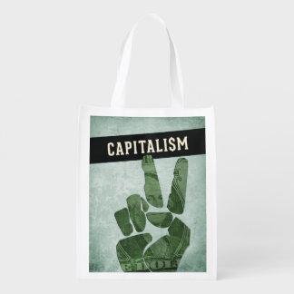 Capitalism Grocery Bag