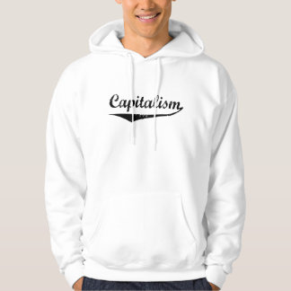 Capitalism Hooded Pullover