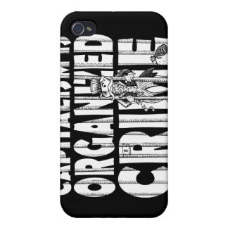 Capitalism is Organized Crime iPhone 4 Cases