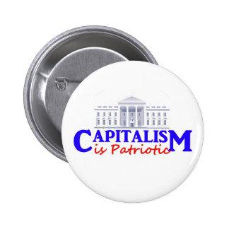 Capitalism Is Patriotic Mouse Button