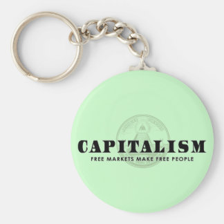 Capitalism Keychain