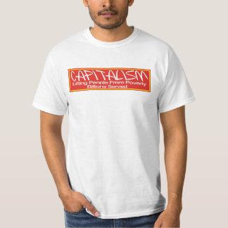 Capitalism Lifting People Shirt Billions Served.