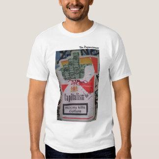Capitalism - Money Kills Culture T-Shirt