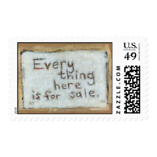 Capitalism painting raw primitve fun modern art stamps