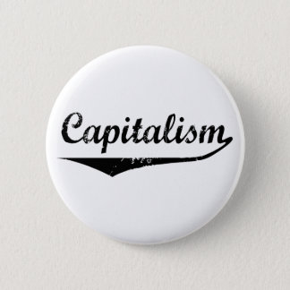 Capitalism Pinback Button
