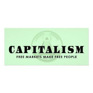 Capitalism Customized Rack Card