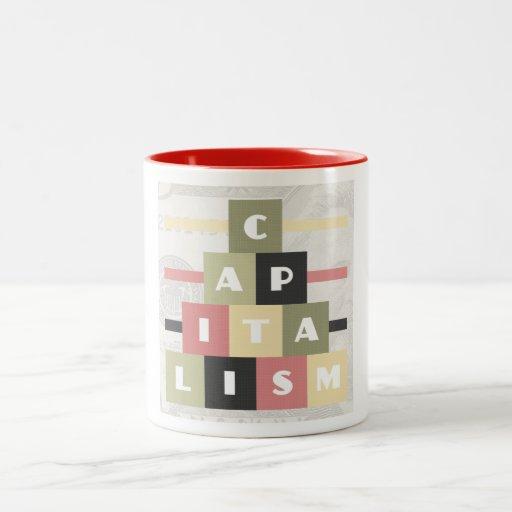 Capitalism Two-Tone Coffee Mug