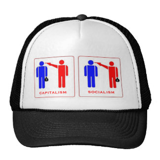 Capitalism versus Socialism Trucker Hat