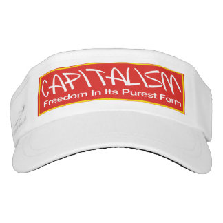 Capitalism Visor - Freedom In Its Purest Form