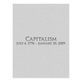 Capitalismo 4 de julio de 1776 - 20 de enero de tarjetas postales