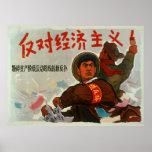 Capitalismo anti de China Poster