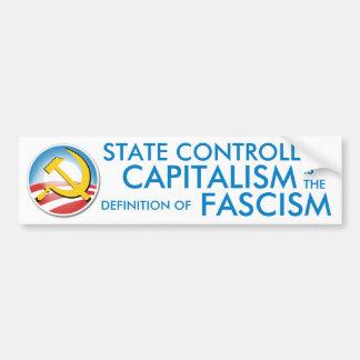 Capitalismo controlado por el Estado Pegatina Para Auto