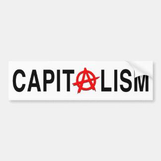 Capitalismo de Anarcho Pegatina Para Auto
