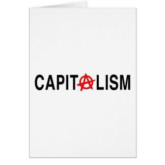 Capitalismo de Anarcho Tarjeta