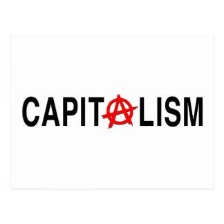 Capitalismo de Anarcho Tarjeta Postal