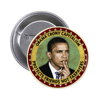 Capitalismo de camarada de Obama Pin