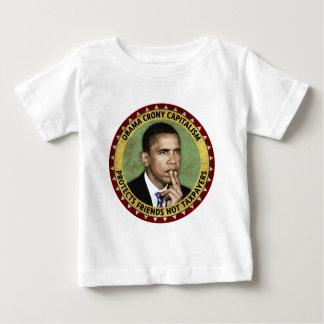 Capitalismo de camarada de Obama Playera De Bebé