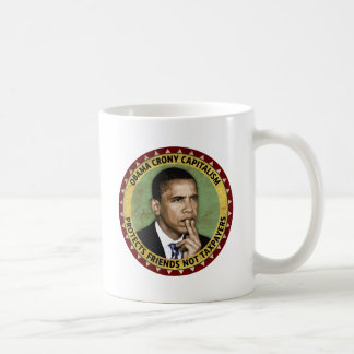 Capitalismo de camarada de Obama Taza De Café