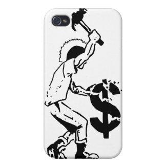 Capitalismo del choque iPhone 4 cobertura
