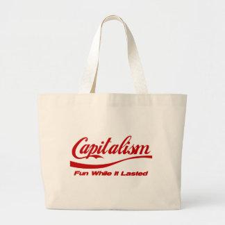 Capitalismo - diversión mientras que duró bolsas de mano