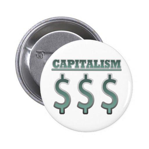 Capitalismo Pin
