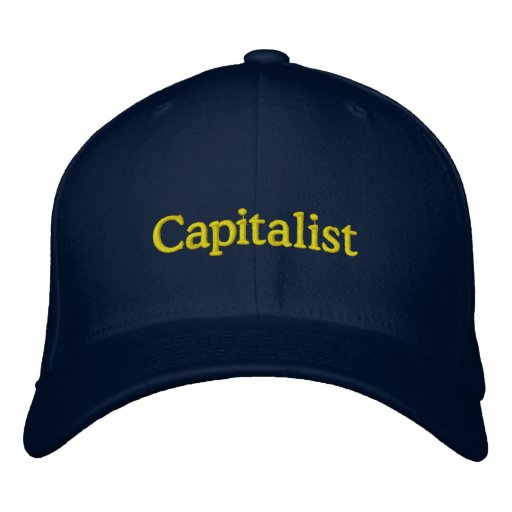 Capitalist cap embroidered hat
