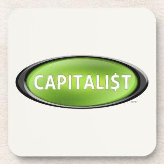 Capitalist Drink Coaster