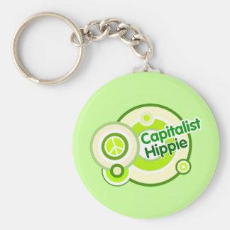 Capitalist Hippie Keychain