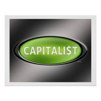 Capitalist Poster