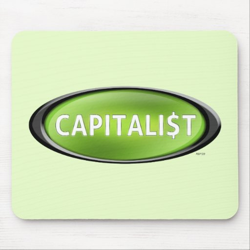 Capitalista Alfombrillas De Raton